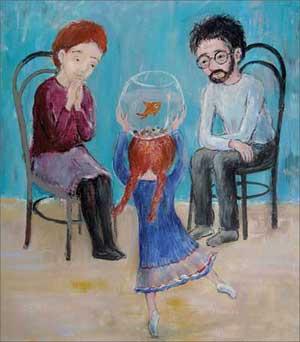 Картинка - ребенок, отец, мать